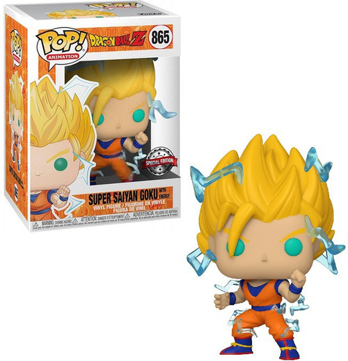 Funko Dragon Ball Z Pop! Animation Super Saiyan 2 Goku Exclusive Vinyl Figure [Regular Version] (Pre-Order ships April)