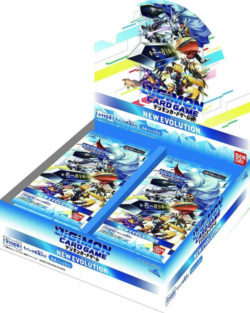 Digimon Trading Card Game New Evolution Booster Box BT-01 [Japanese, 24 Packs]