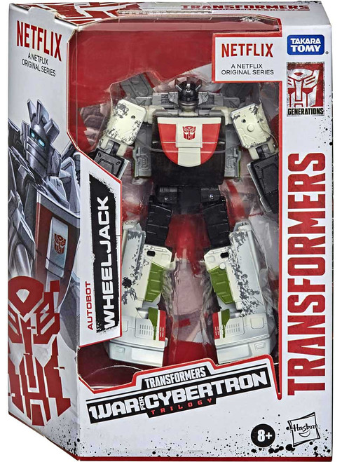 Transformers Generations War for Cybertron: Trilogy Wheeljack Exclusive Deluxe Action Figure [Netflix Series Inspired]