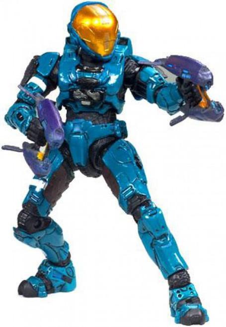 McFarlane Toys Halo 3 Series 6 Medal Edition Spartan Soldier EVA Exclusive Action Figure [Teal, Loose]