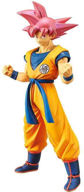 Dragon Ball Super Cyokoku Buyuden Collection Super Saiyan God Son Goku 8.4 Collectible PVC Figure [Damaged Package]