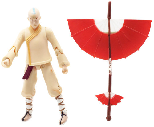 Avatar the Last Airbender Aang Action Figure [Winter, Loose]