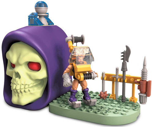 Mega Construx Masters of the Universe Skeletor Skull Fisto with Cliff Climber Set