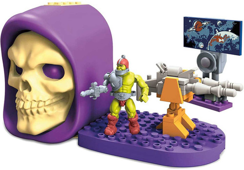Mega Construx Masters of the Universe Skeletor Skull Trap Jaw with Laser Cannon Set