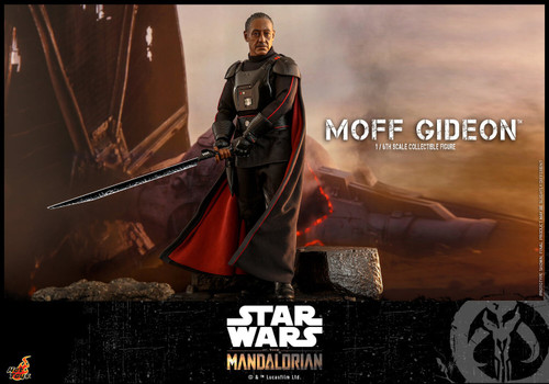 Star Wars The Mandalorian Moff Gideon Collectible Figure (Pre-Order ships June 2022)