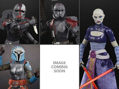 Star Wars Black Series Wave 4 Hunter, Crosshair, Asajj Ventress, Bo Katan & Secret Figure Set of 5 Action Figures (Pre-Order ships May)