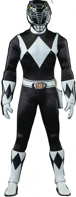 Power Rangers Mighty Morphin Black Ranger Action Figure (Pre-Order ships September)