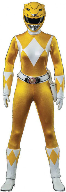 Power Rangers Mighty Morphin Yellow Ranger Action Figure (Pre-Order ships September)