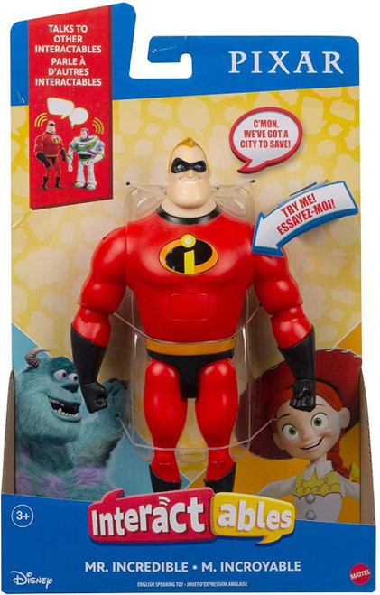 Disney / Pixar The Incredibles Interactables Mr. Incredible Action Figure