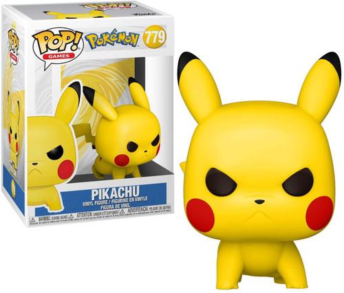 Funko Pokemon POP! Games Pikachu Vinyl Figure #779 [Attack Stance]