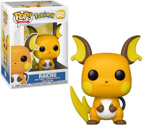 Funko Pokemon POP! Games Raichu Vinyl Figure #645