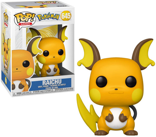 Funko Pokemon POP! Games Raichu Vinyl Figure #645 (Pre-Order ships February)