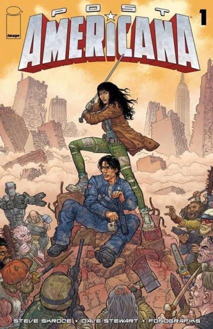 Image Comics Post Americana #1A Comic Book