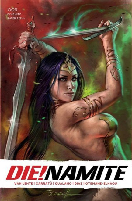Dynamite Entertainment Die!Namite #3C Comic Book