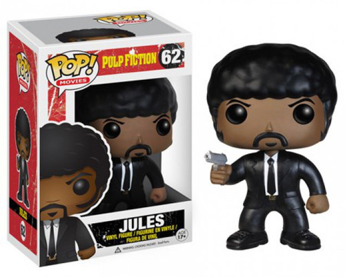 Funko Pulp Fiction POP! Movies Jules Vinyl Figure #62 [Damaged Package, Loose]