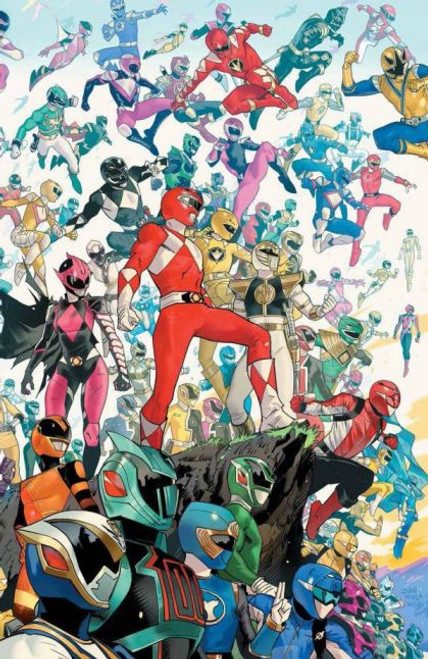 Boom! Studios Power Rangers #2 Comic Book [Mora Incentive Variant]