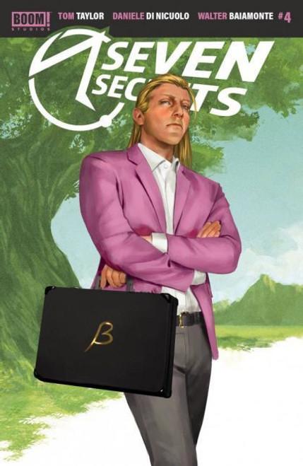 Boom! Studios Seven Secrets #4 Comic Book [Mercado Variant]