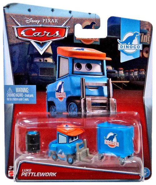 Disney / Pixar Cars Dinoco Luke Pettlework Diecast Car #6/8