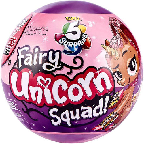 5 Surprise Unicorn Squad Series 3 Fairy Mystery Pack