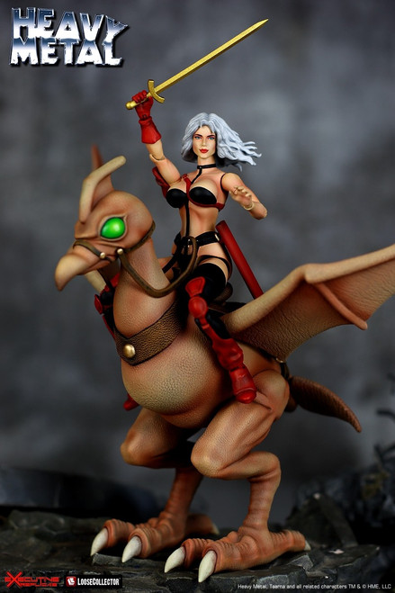 Heavy Metal Taarna & Avis Deluxe Action Figure 2-Pack (Pre-Order ships September)