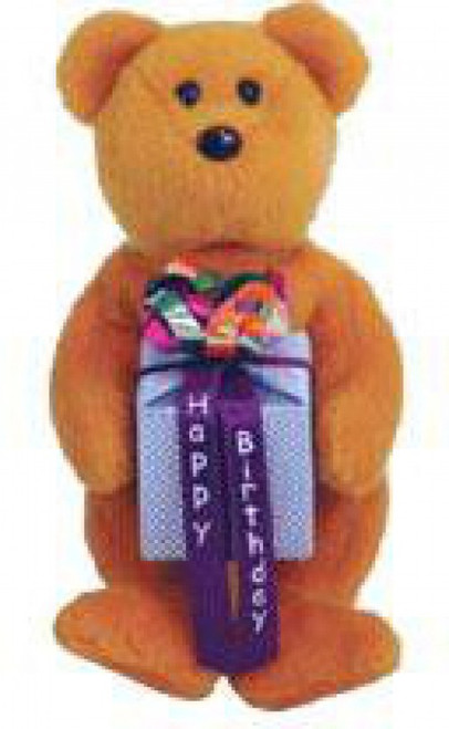 Beanie Babies Birthday Bears Mini Happy Birthday the Bear Beanie Baby Plush