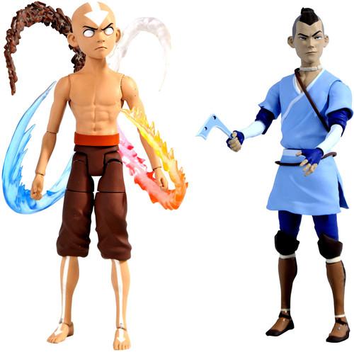 Avatar the Last Airbender Series 4 Final Battle Aang & Sokka Set of Both Action Figures (Pre-Order ships June)
