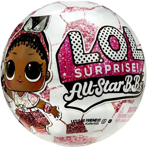 LOL Surprise All Stars BBs Series 3 Pink Lightning Mystery Pack [PINK Ball, 1 RANDOM Figure!] (Pre-Order ships January)