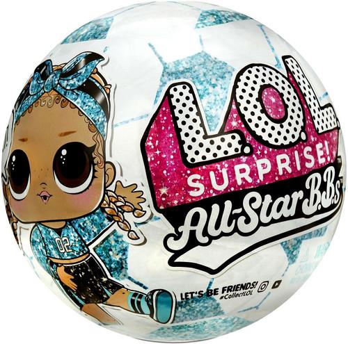 LOL Surprise All Stars BBs Series 3 Soccer Teal Rockets Mystery Pack [TEAL Team, 1 RANDOM Figure!]