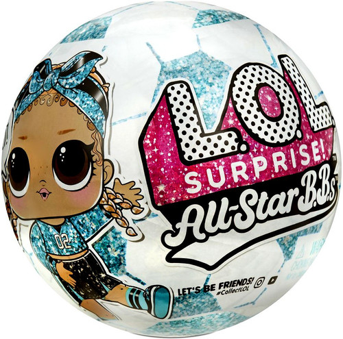 LOL Surprise All Stars BBs Series 3 Teal Rockets Mystery Pack [TEAL Ball, 1 RANDOM Figure!] (Pre-Order ships January)