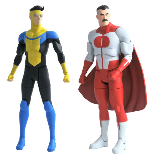 Invincible Series 1 Invincable & Omni-Man Set of Both Action Figures (Pre-Order ships June)