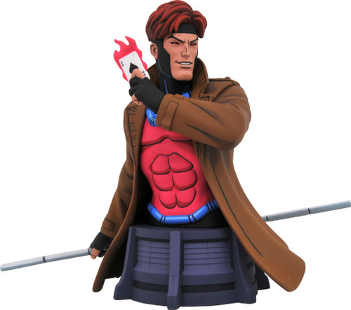 Marvel X-Men The Animated Series Gambit 6-Inch Bust (Pre-Order ships June)