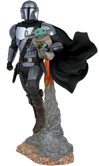 Star Wars The Mandalorian Mandalorian & Child 1/6 Limited to 1000 Statue (Pre-Order ships June)