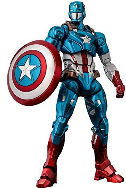 Marvel Captain America Collectible Action Figure [Fighting Armor] (Pre-Order ships May)