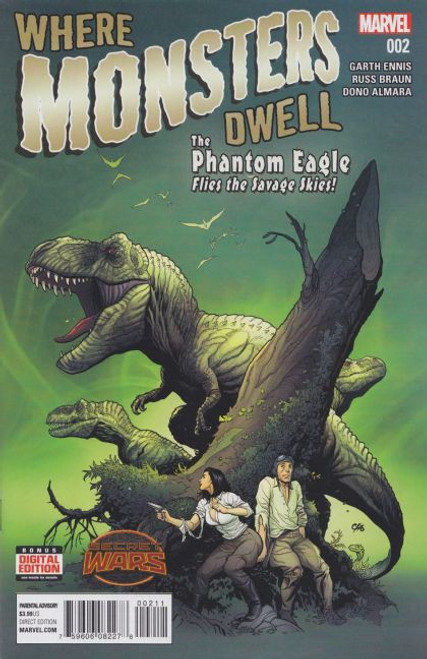 Marvel Where Monsters Dwell, Vol. 2 #2 Comic Book