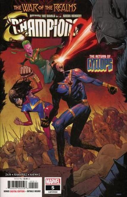 Champions, Vol. 3 (Marvel) #5A Comic Book