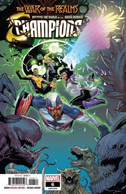 Champions, Vol. 3 (Marvel) #6A Comic Book