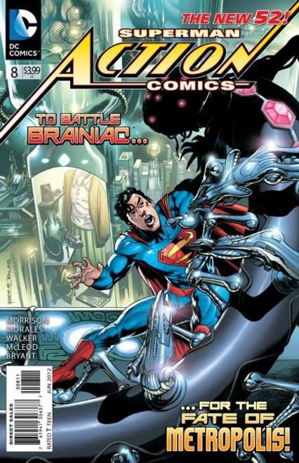 DC Comics Action Comics, Vol. 2 #8A Comic Book