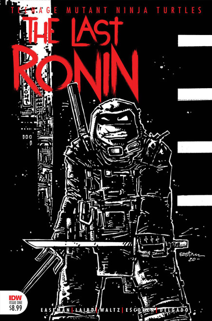 IDW Teenage Mutant Ninja Turtles #1 of 5 Last Ronin Comic Book [3rd Printing Variant featuring new black and white artwork by Kevin Eastman]