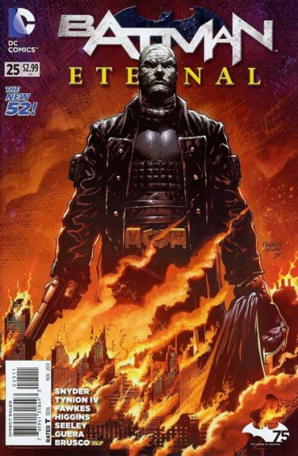 DC Comics Batman Eternal #25 Comic Book