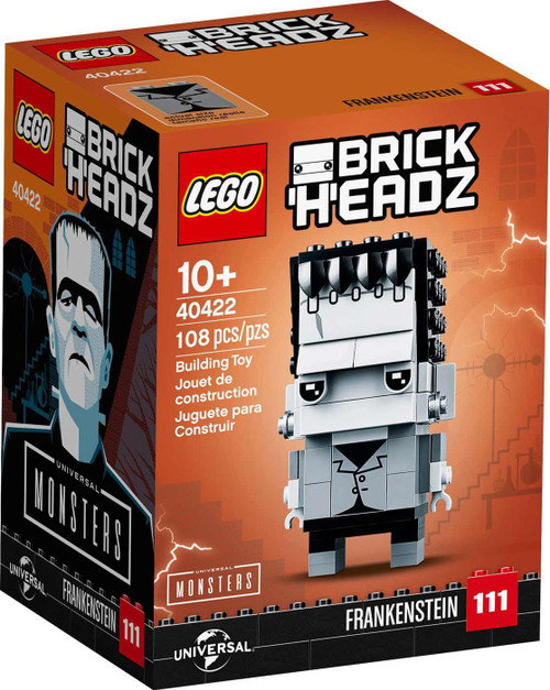 LEGO Universal Monsters Brick Headz Frankenstein Exclusive Set #40422