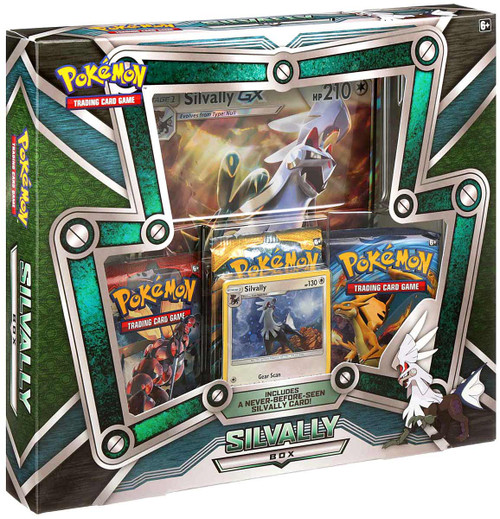 Pokemon Trading Card Game Silvally Box [3 Booster Packs, Promo Card & Oversize Card!]