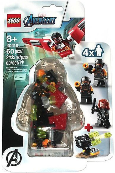 LEGO Marvel Super Heroes Avengers Falcon & Black Widow Team Up Set #40418