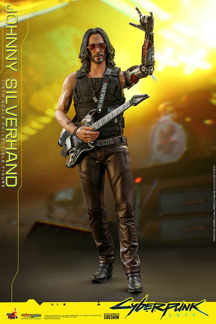 Cyberpunk 2077 Johnny Silverhand Collectible Figure VGM47 (Pre-Order ships June 2022)