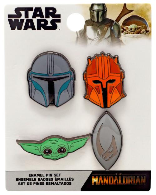 Funko Star Wars The Mandalorian Enamel Pin 4-Pack
