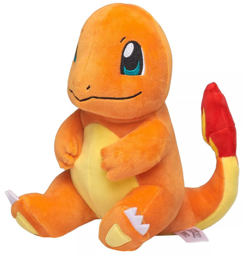 Pokemon Charmander 8-Inch Plush [Sitting]