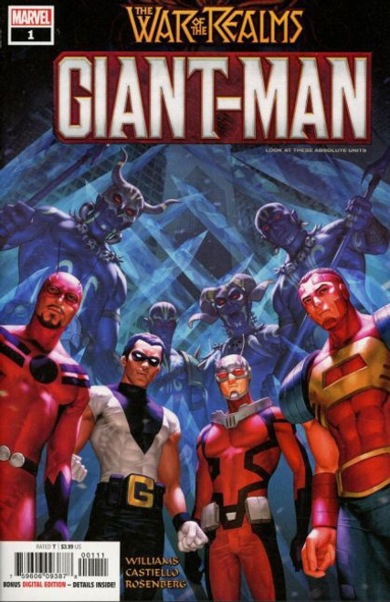 Marvel Giant Man #1A Comic Book [War of the Realms]