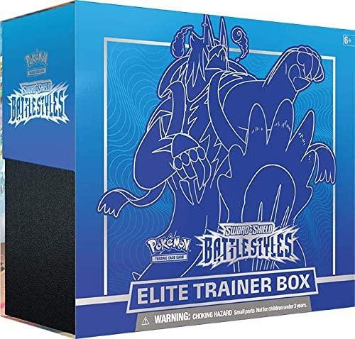 Pokemon Trading Card Game Sword & Shield Battle Styles Gigantamax Urshifu Rapid Strike Elite Trainer Box [8 Booster Packs, 65 Card Sleeves, 45 Energy Cards & More]
