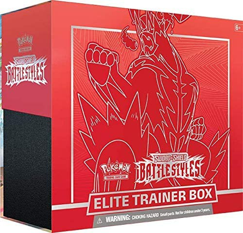 Pokemon Trading Card Game Sword & Shield Battle Styles Gigantamax Urshifu Single Strike Elite Trainer Box [8 Booster Packs, 65 Card Sleeves, 45 Energy Cards & More!] (Pre-Order ships March)