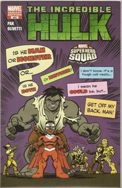 Marvel The Incredible Hulk, Vol. 1 #602 Comic Book [Super Hero Squad Variant]