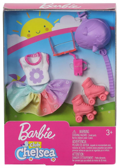 Barbie Club Chelsea Roller Skating Accessory Pack